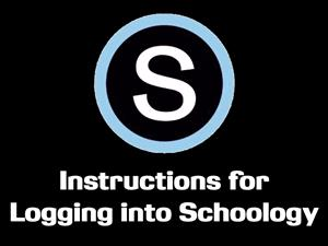 Instructions for Logging into Schoology