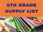 Fourth Grade Supply List